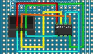 ATTiny Program Wiring