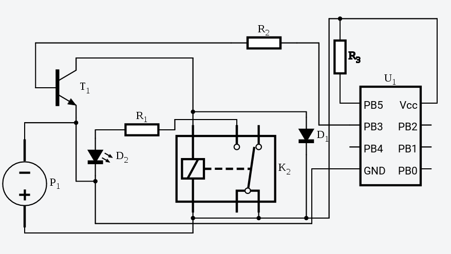 Transistor Controlled Relay Wiring Diagram