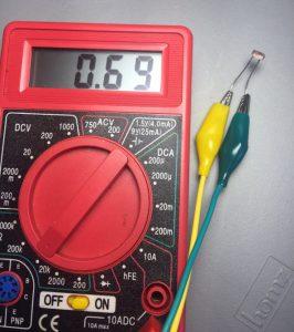Photo Resistor Light Source