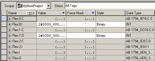 Remote I/O Tags