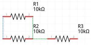 Resistor series parallel