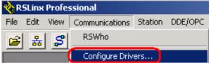 RSLinxConfigureDrivers