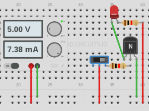 Transistor ON