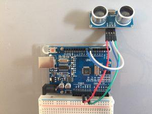 Ultrasonic Sensor Hookup