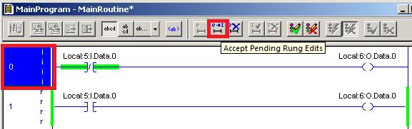 Accept Rung Edits