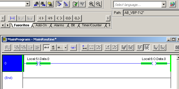 Online editing in ControlLogix: How to edit an existing rung
