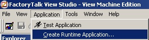 Select Create Runtime