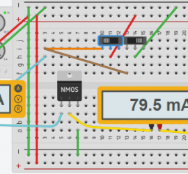 MOSFET held high