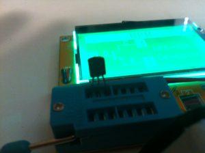 Transistor ZIF