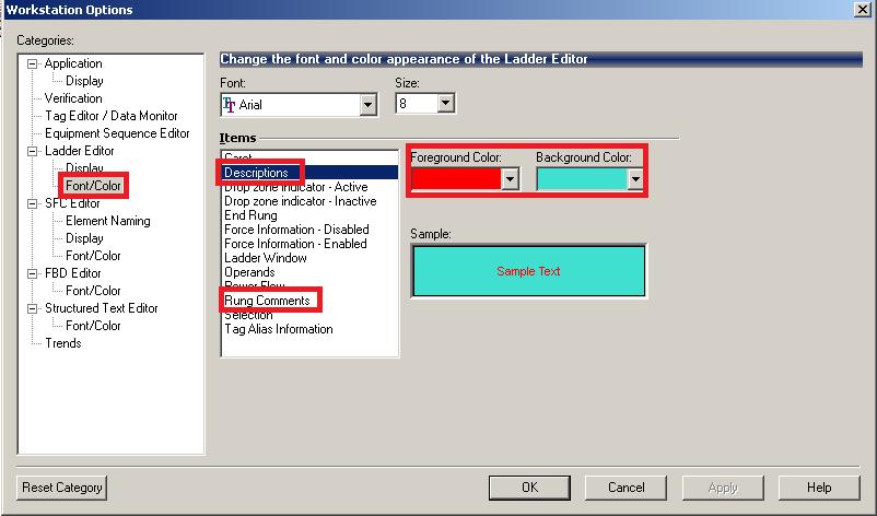 ControlLogix Documentation -- Operand descriptions and rung