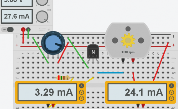 Transistor High Speed