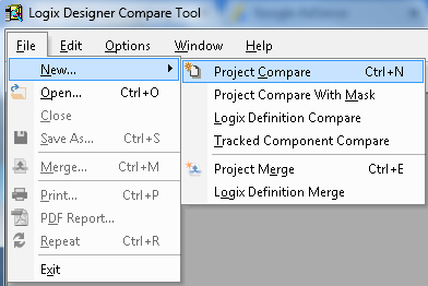 Start Compare Project