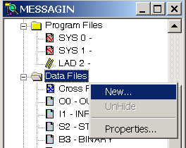 Create Data File