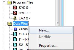 Building files