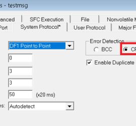 system protocol